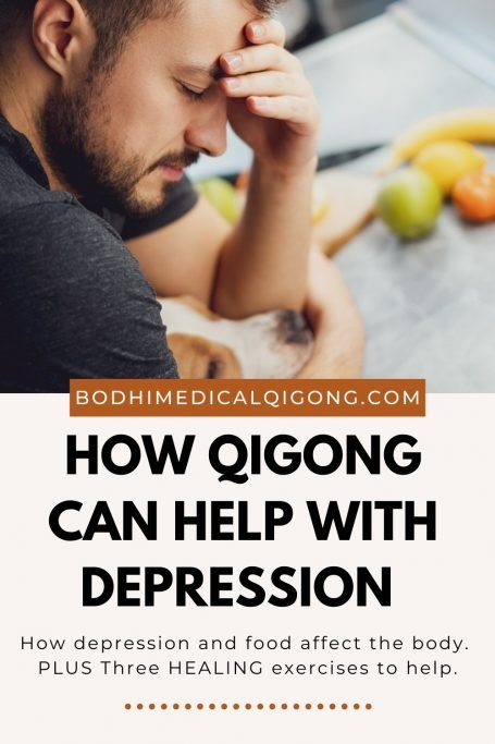 This simple Qigong for Depression program will re-energize your lungs and remove the energetic stagnations that are making you feel so down.